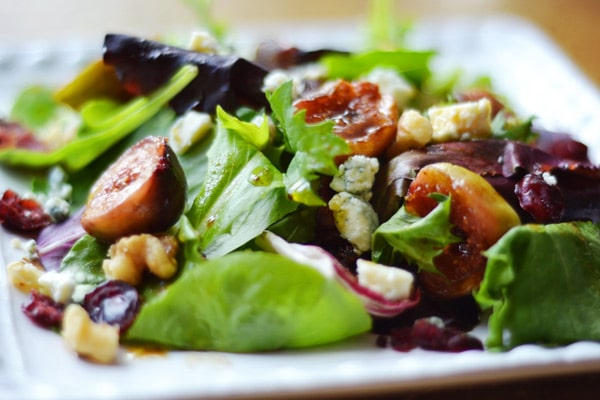 cheese salad pear and blue cheese salad blue cheese and rocket fig ...