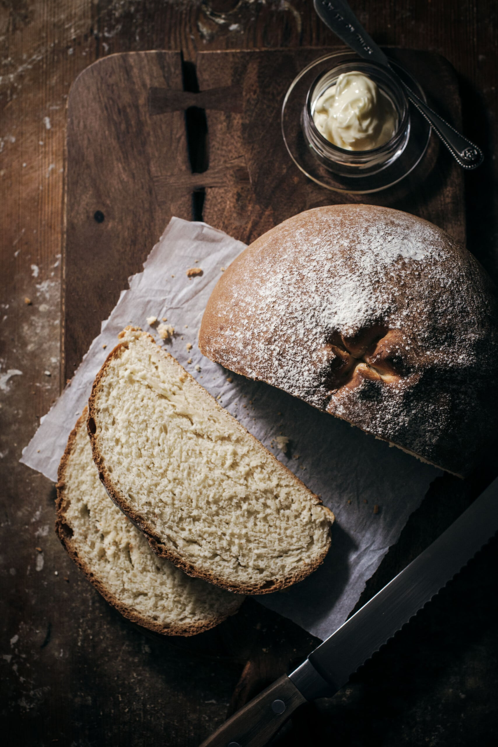 Easy to Make Rustic White Bread Recipe