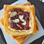 Cranberry Cream Cheese Pastries