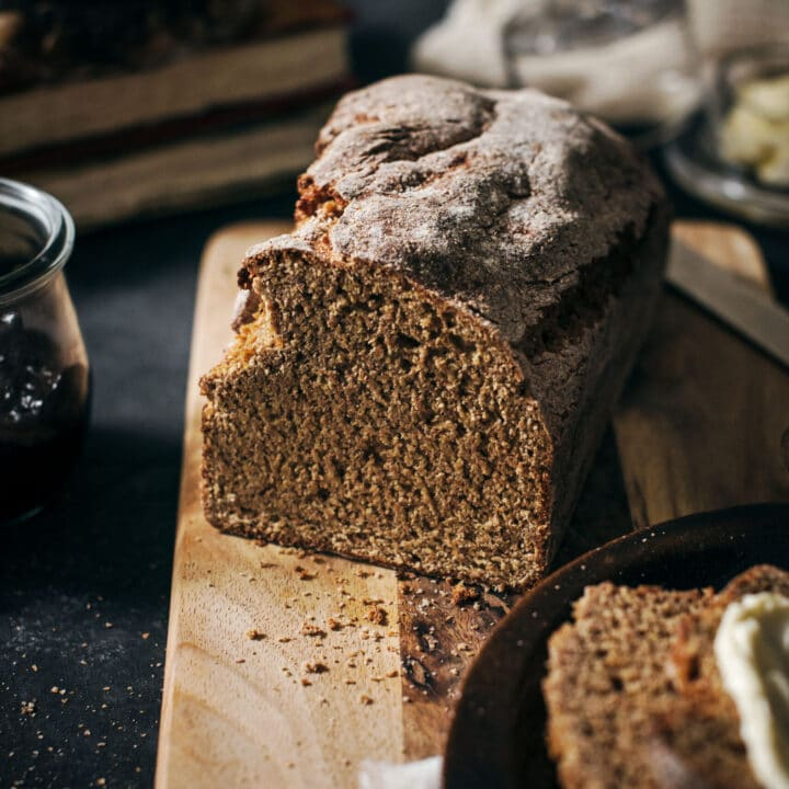 Loaf of Irish Brown Bread Recipe
