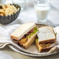 Loaded BLT Sandwich