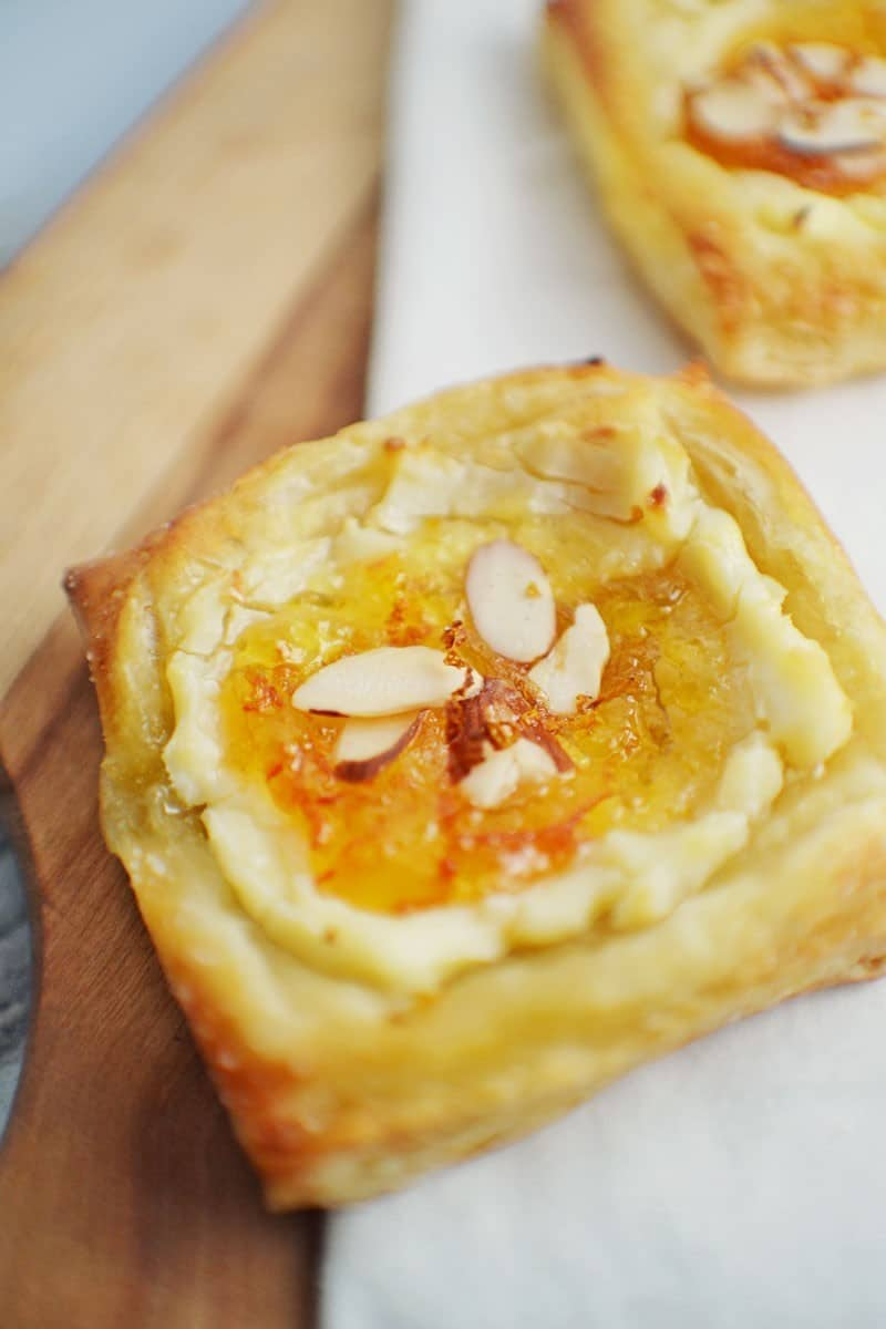 Marmalade Cream Cheese Danish
