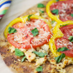 Florida Flatbread with Tomatoes and Sweet Peppers