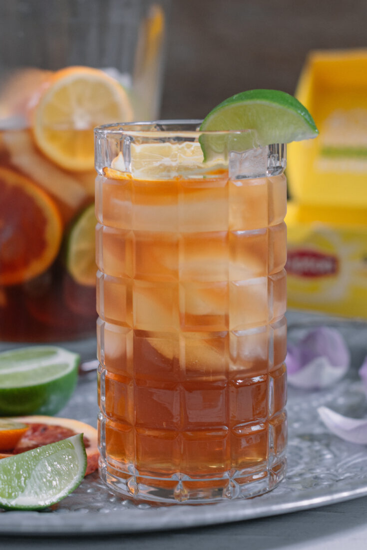 Learn how to make Southern Sweet Iced Tea, so easy and completely refreshing!