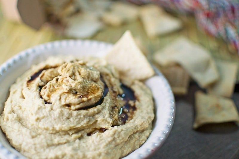Wasabi Ginger Hummus