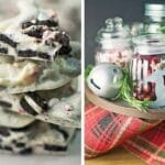 Oreo Candy Cane Bark PLUS Holiday Centerpiece Tips