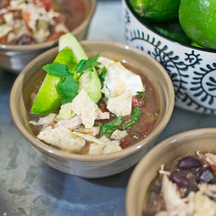 Chicken Lime Tortilla #Soup