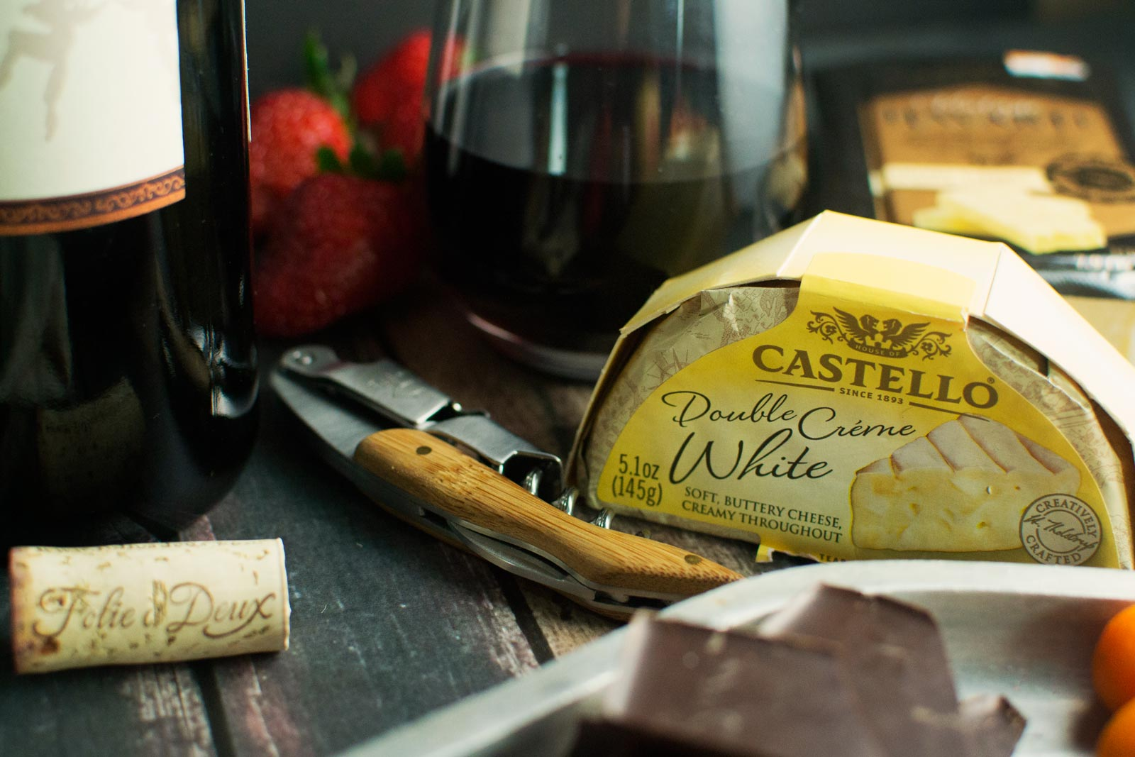 #HowTo Create a Cheeseboard for Two - @LittleFiggyFood - #Castello