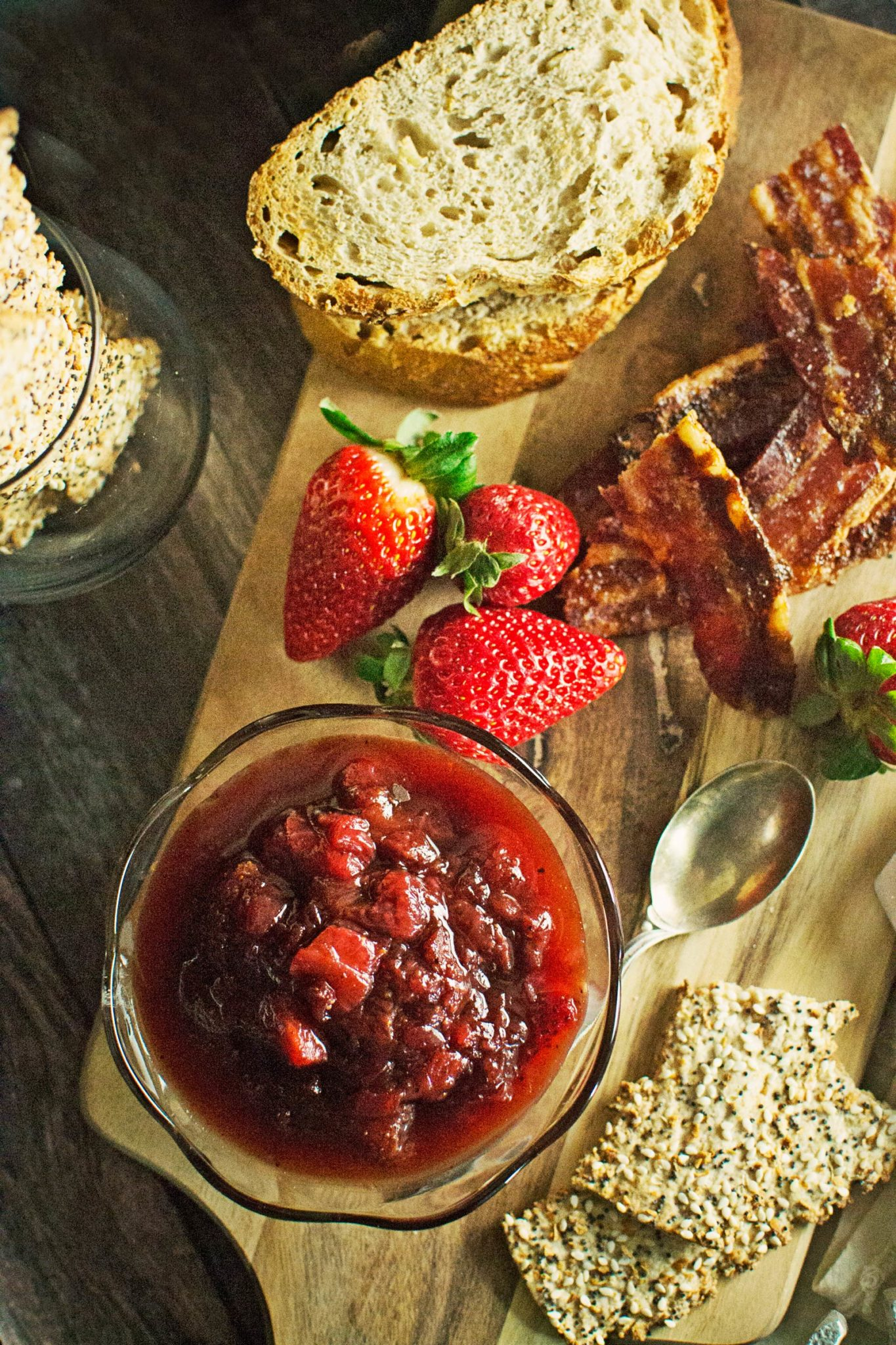 Strawberry Balsamic Jam - Cheeseboard for Two #tutorial