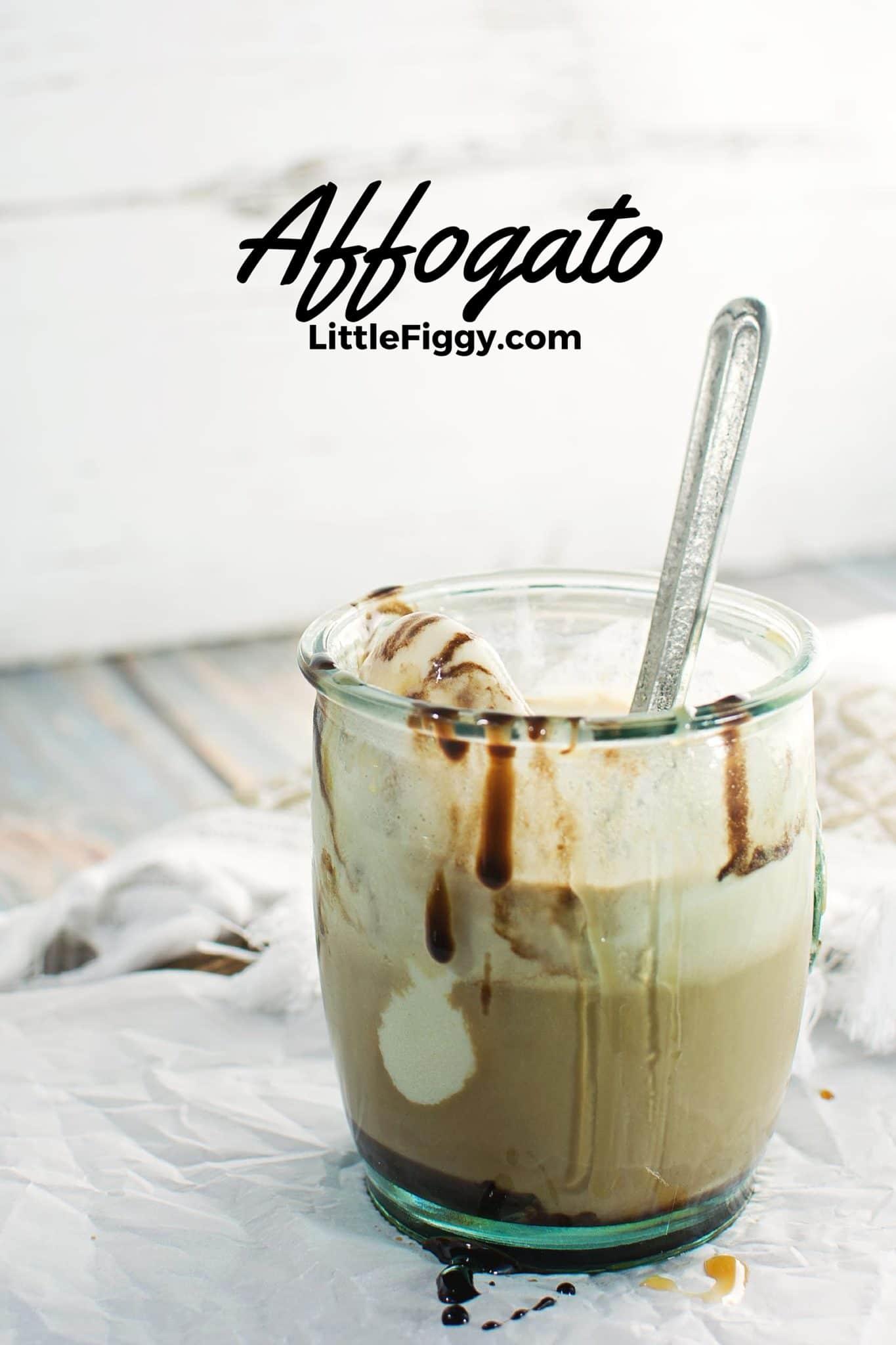 Try this super easy yet wonderful dessert, Affogato #recipe! Find the recipe @LittleFiggyFood