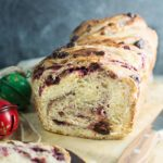 Cranberry Cream Cheese Babka