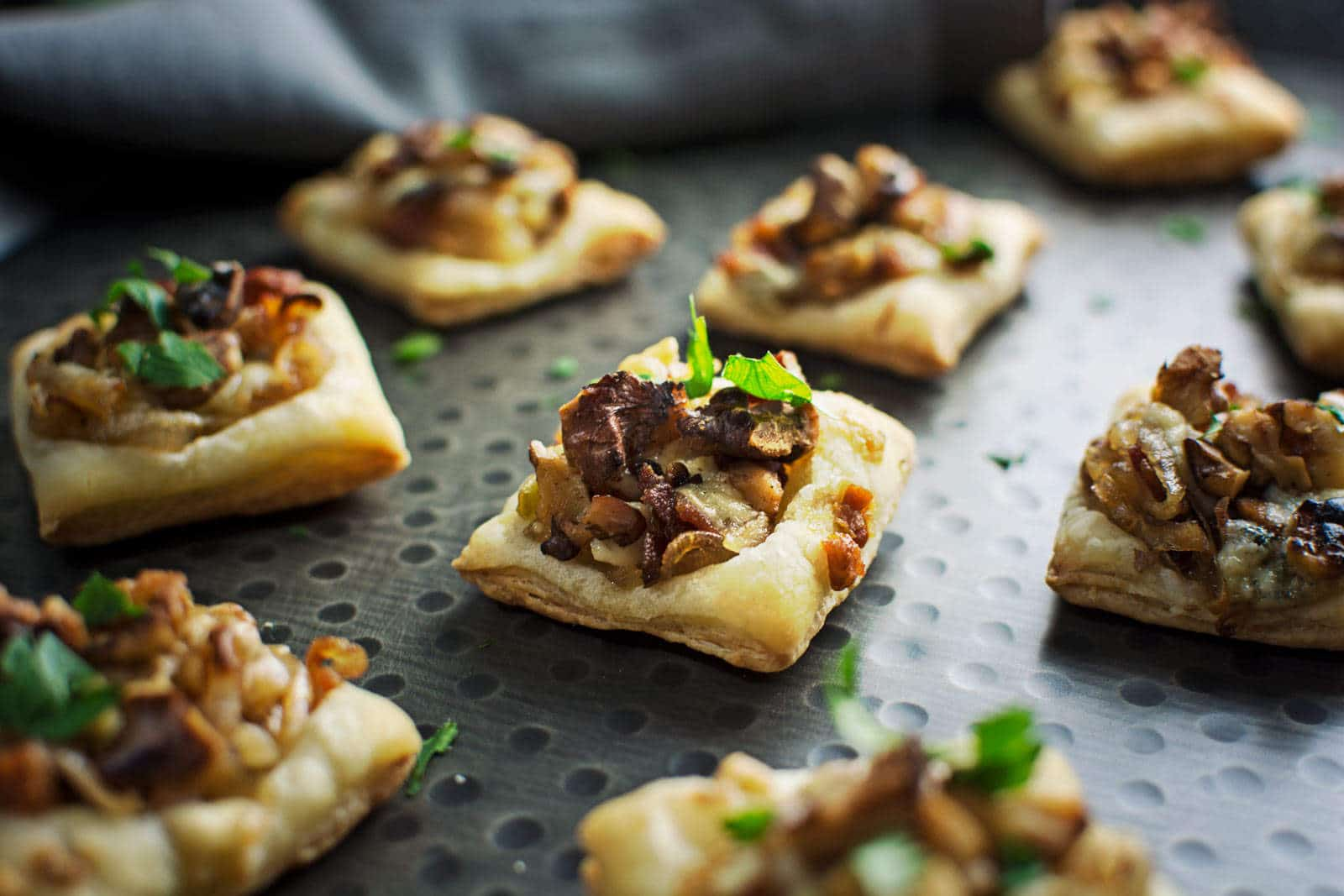 Caramelized Shallot Tarts