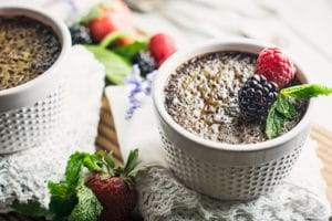Decadent. Indulgent. Chocolate Crème Brûlée! Recipe @LittleFiggyFood
