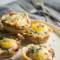 Croque Madame Breakfast Bites