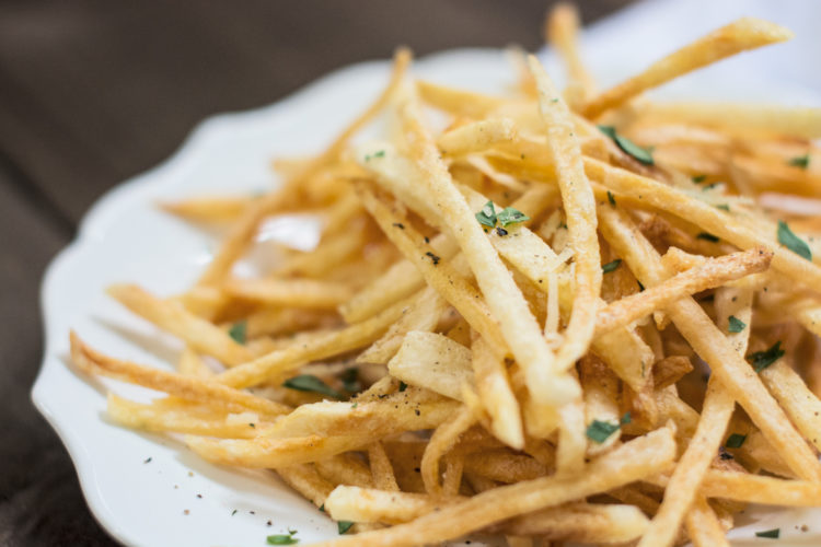 Shoestring Style French Fries