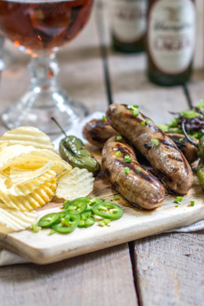 Try Smithfield® Yuengling® Bratwurst, the answer to your summertime BBQs