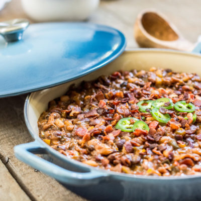Loaded and Smokin' BBQ Beans