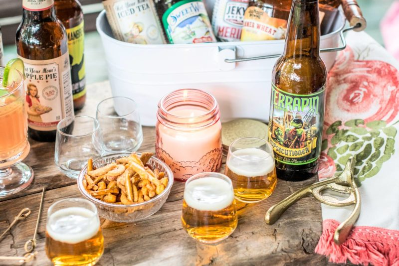 Enjoy trying out some of your local brews, perfect for your next get together! Read about it all at Little Figgy Food. Find all you need @WorldMarket #WorldMarketCMA #CMAFest #ad