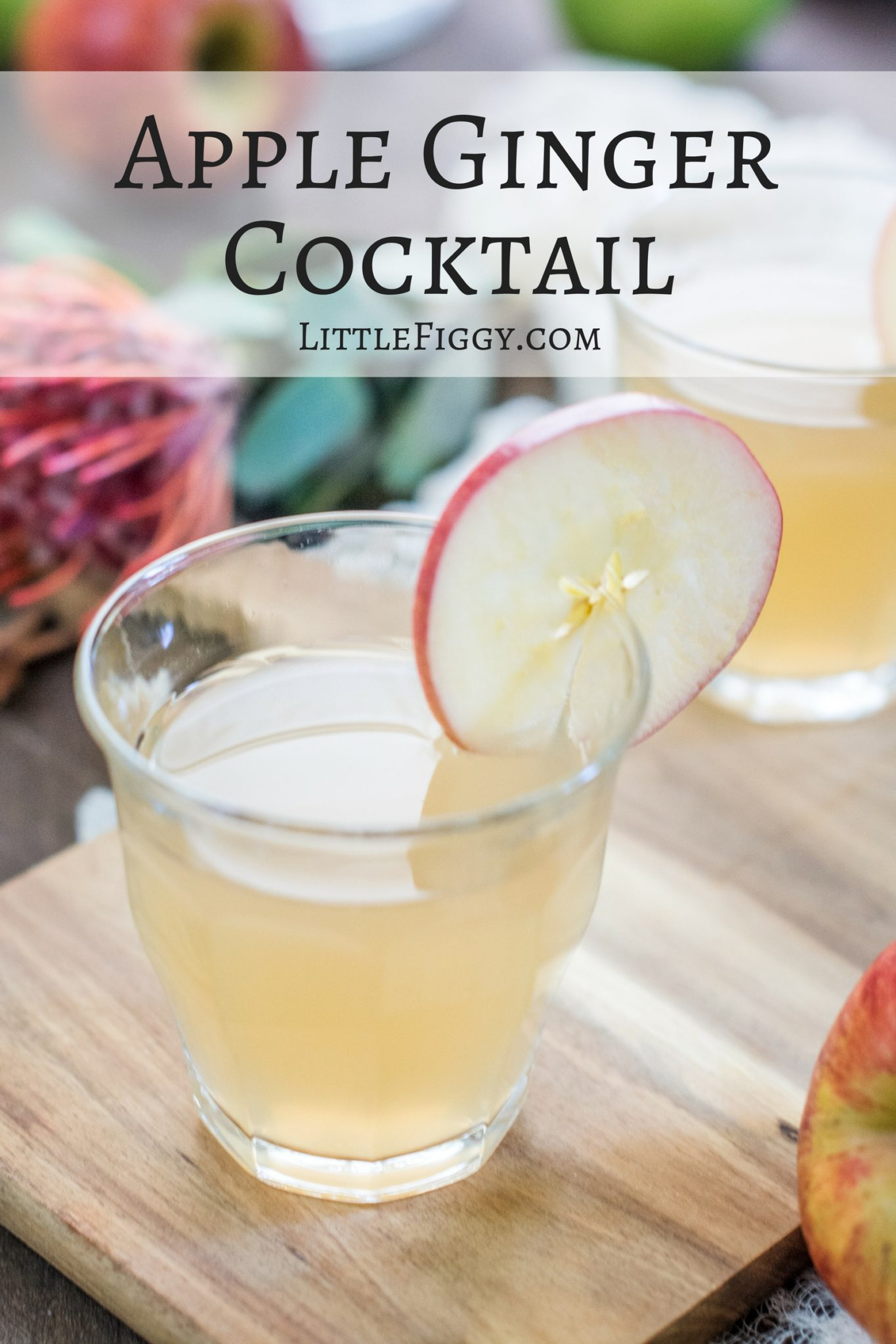 Apple Ginger Cocktail Recipe