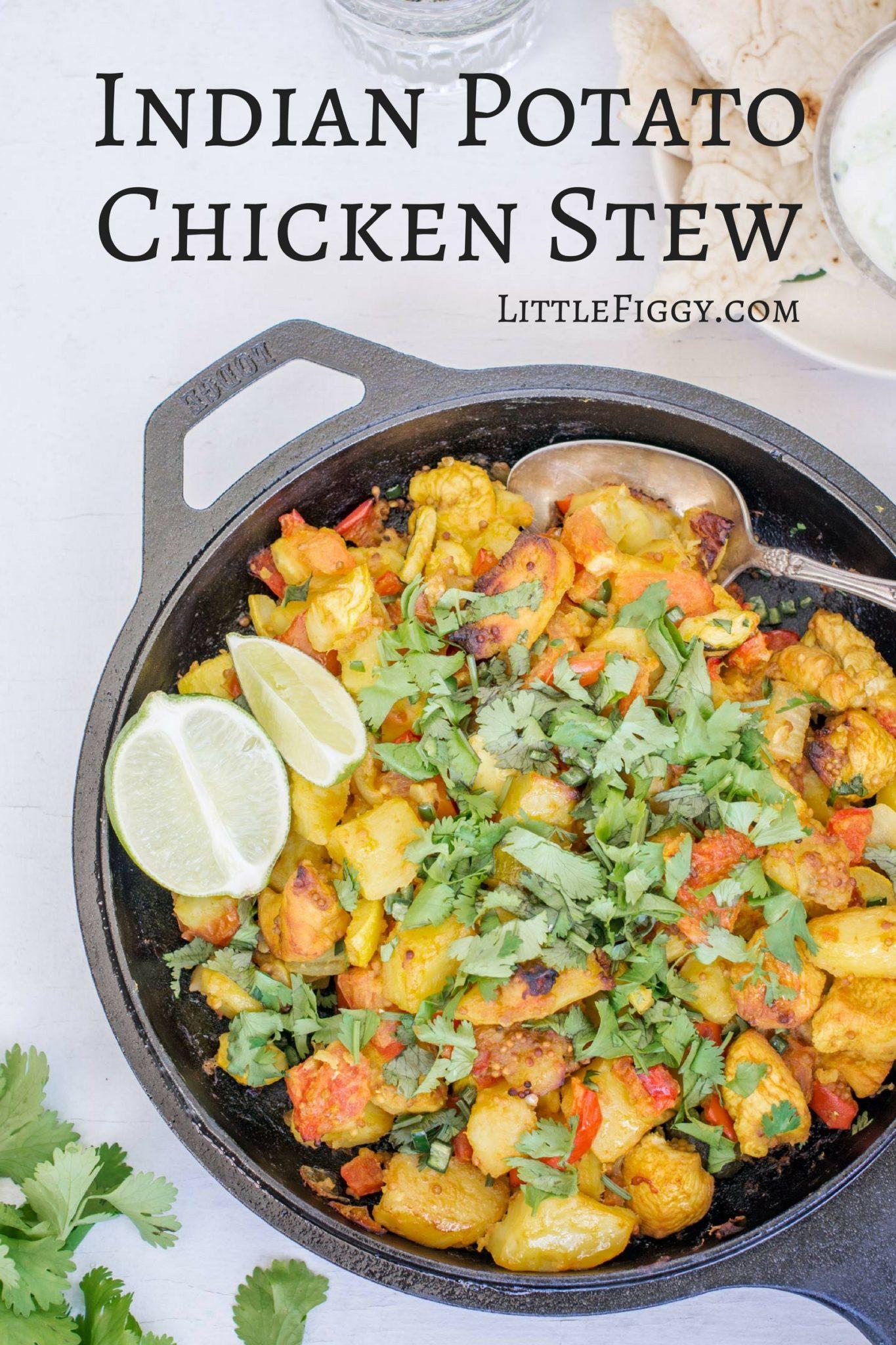 Indian Potato Chicken Stew Recipe