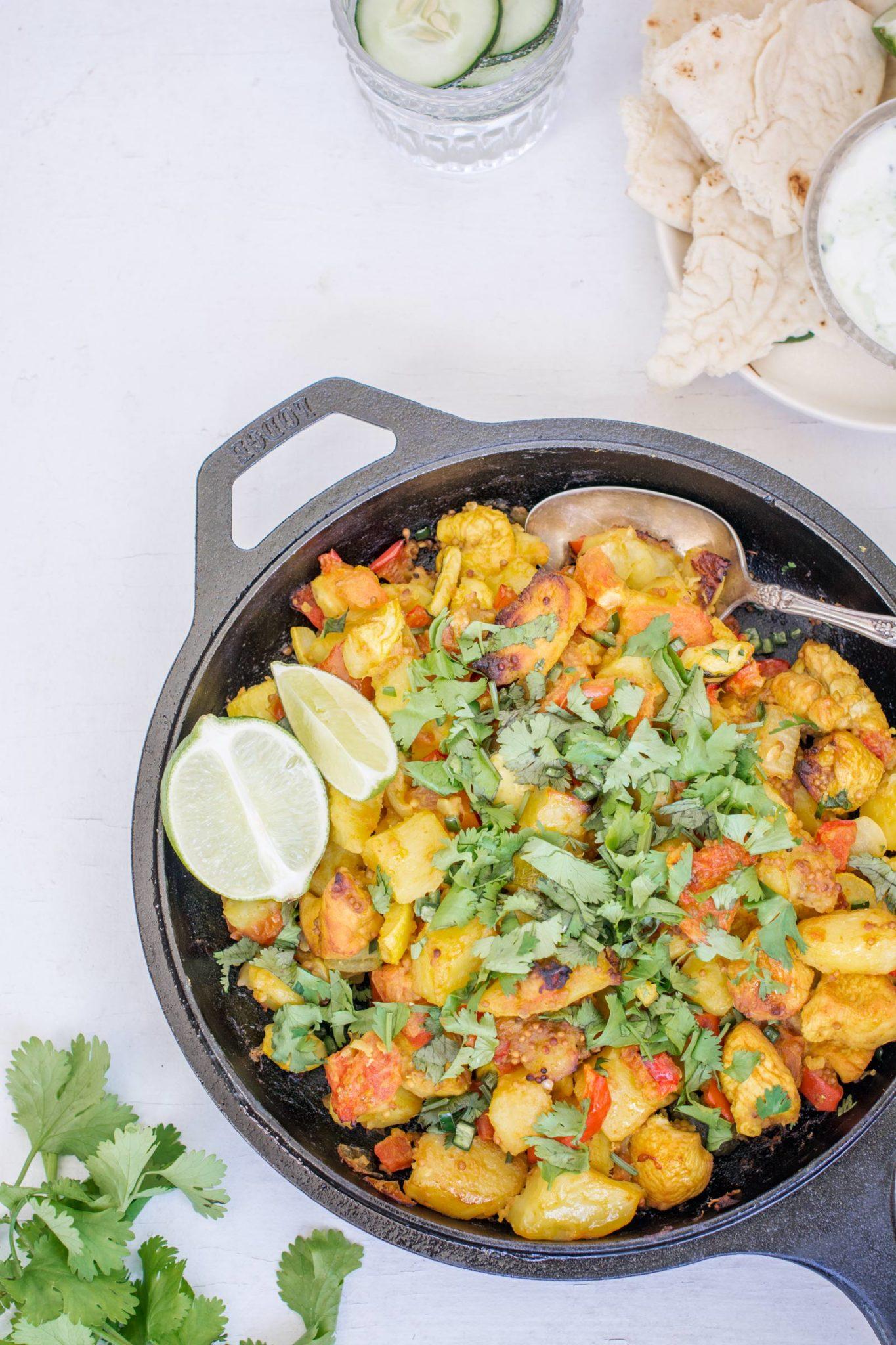 Potato Chicken Curry Stew