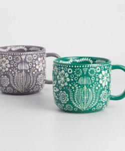 Jolly Hearts Mugs