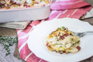 Zucchini Potato Gratin recipe