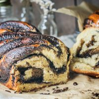 Coffee and Chocolate Babka