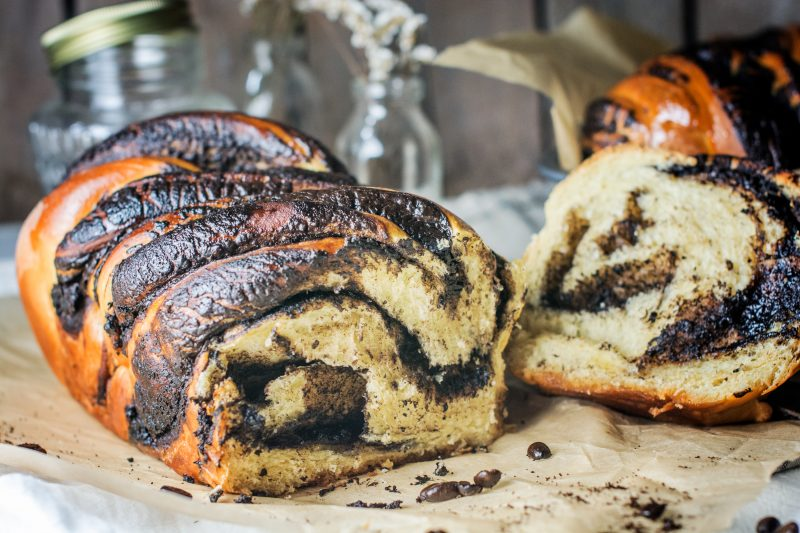 Babka Sliced and Ready to Enjoy