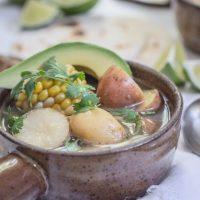 Colombian Chicken Corn and Potato Stew