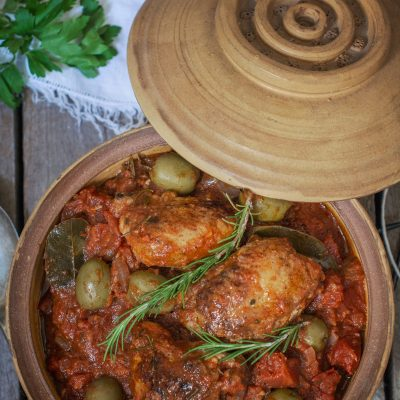 Easy Chicken Cacciatore {Hunters Chicken Stew}