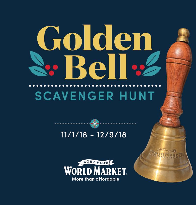 Golden Bell Post for Cost Plus World Market