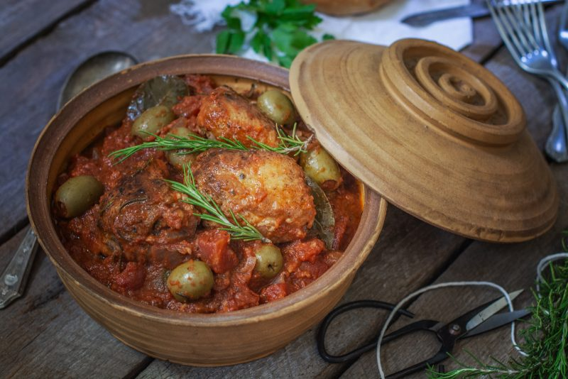 Hunters Chicken Stew - Easy Chicken Cacciatore