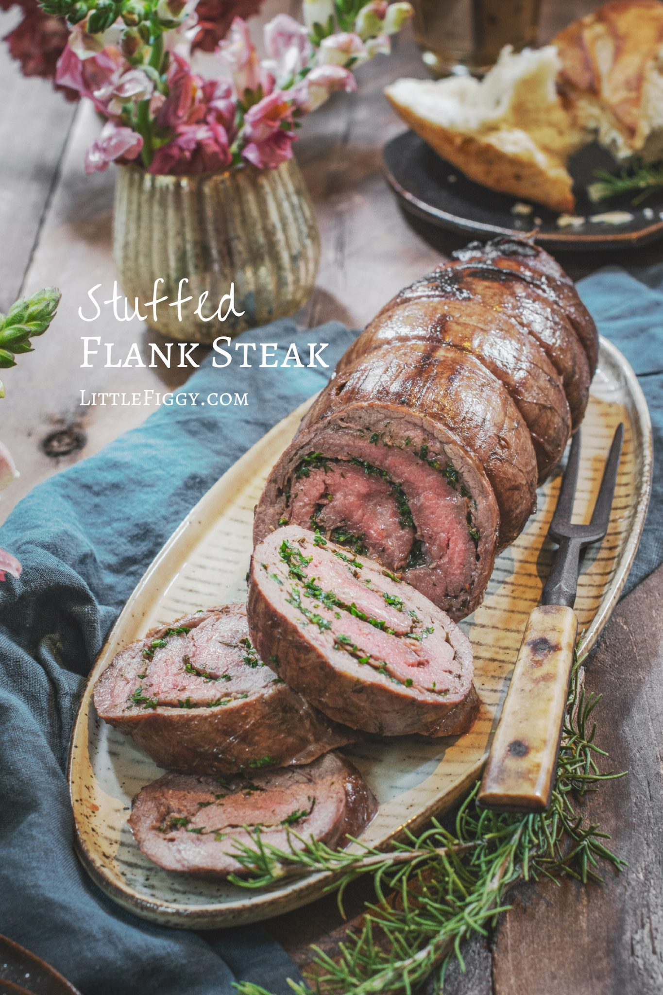 Stuffed Flank Steak Recipes, easy to make!