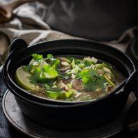Thai Coconut Chicken Soup - Tom Kha Gai Recipe