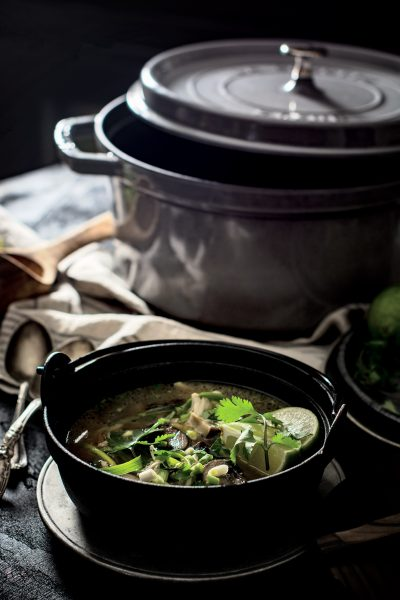 Serve up Tom Kha Gai recipe and cozy up during the chilly nights.