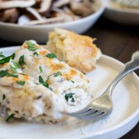 Easy to Make Mushroom Ricotta Manicotti Recipe
