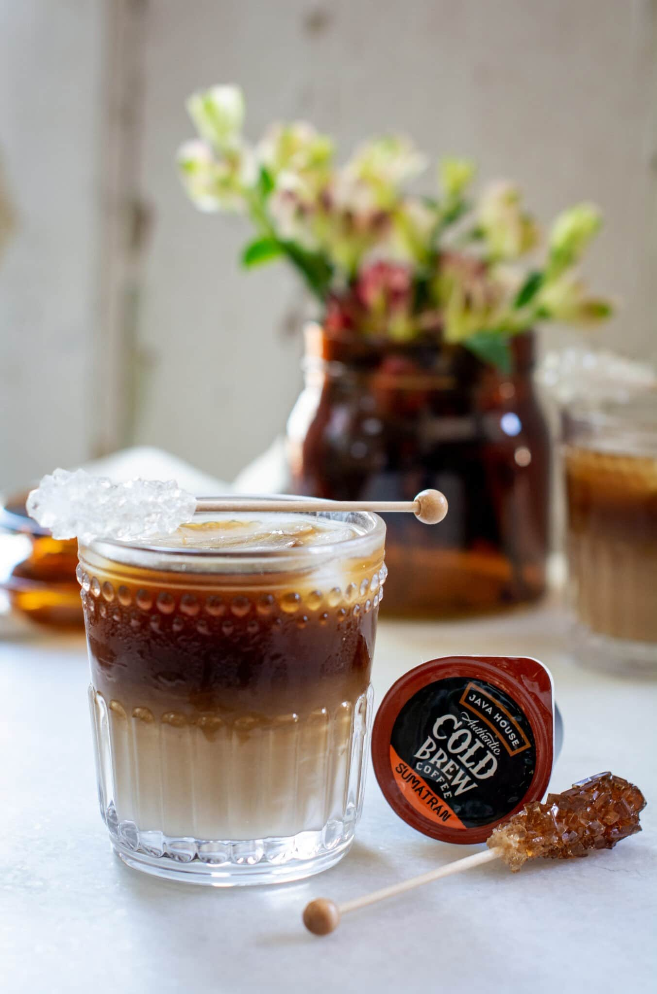 Spiked Kentucky Bourbon Cold Brew Coffee Cocktail