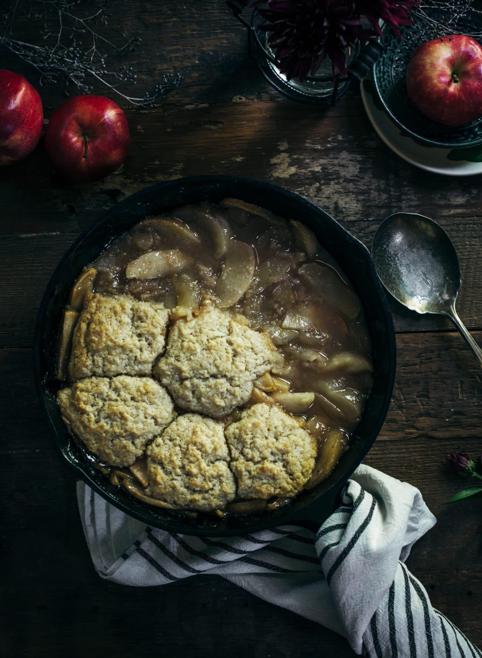 Old Fashioned Apple Cobbler Recipe