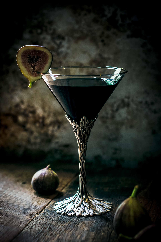 Black Fig Vodka Martini Cocktail Recipe