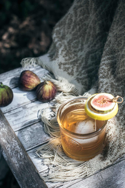 Tasty Lemon and Fig Rum Cocktails Recipe