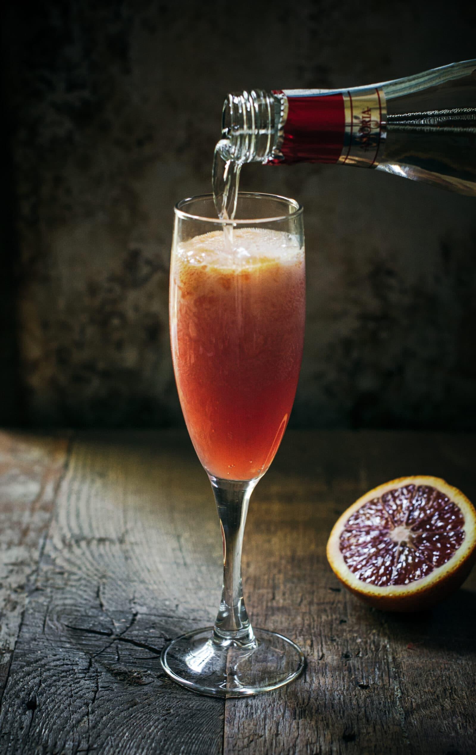 Easy Cocktails: Blood Orange Bellini Recipe