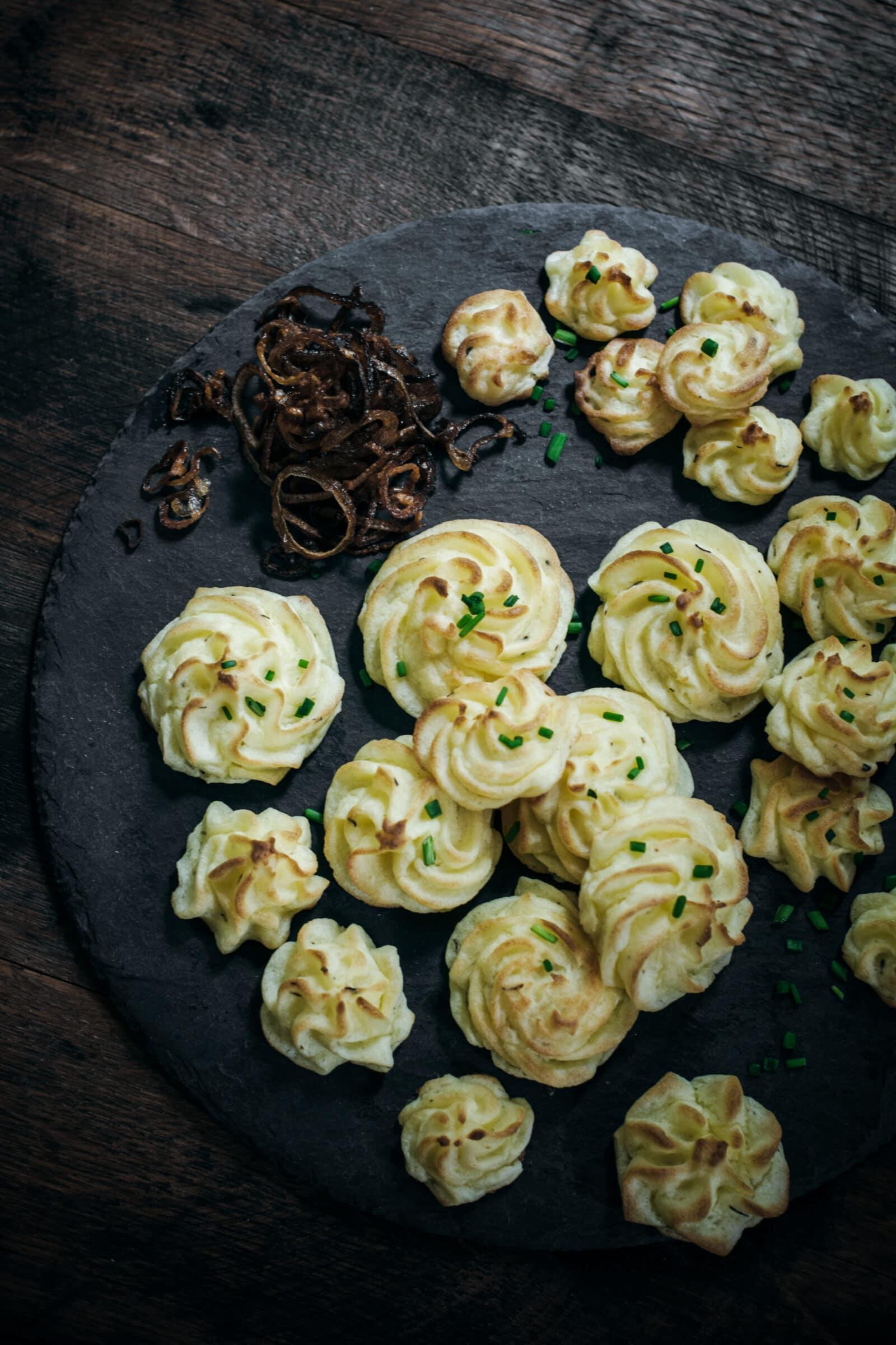 Duchess Potatoes Appetizer Recipe
