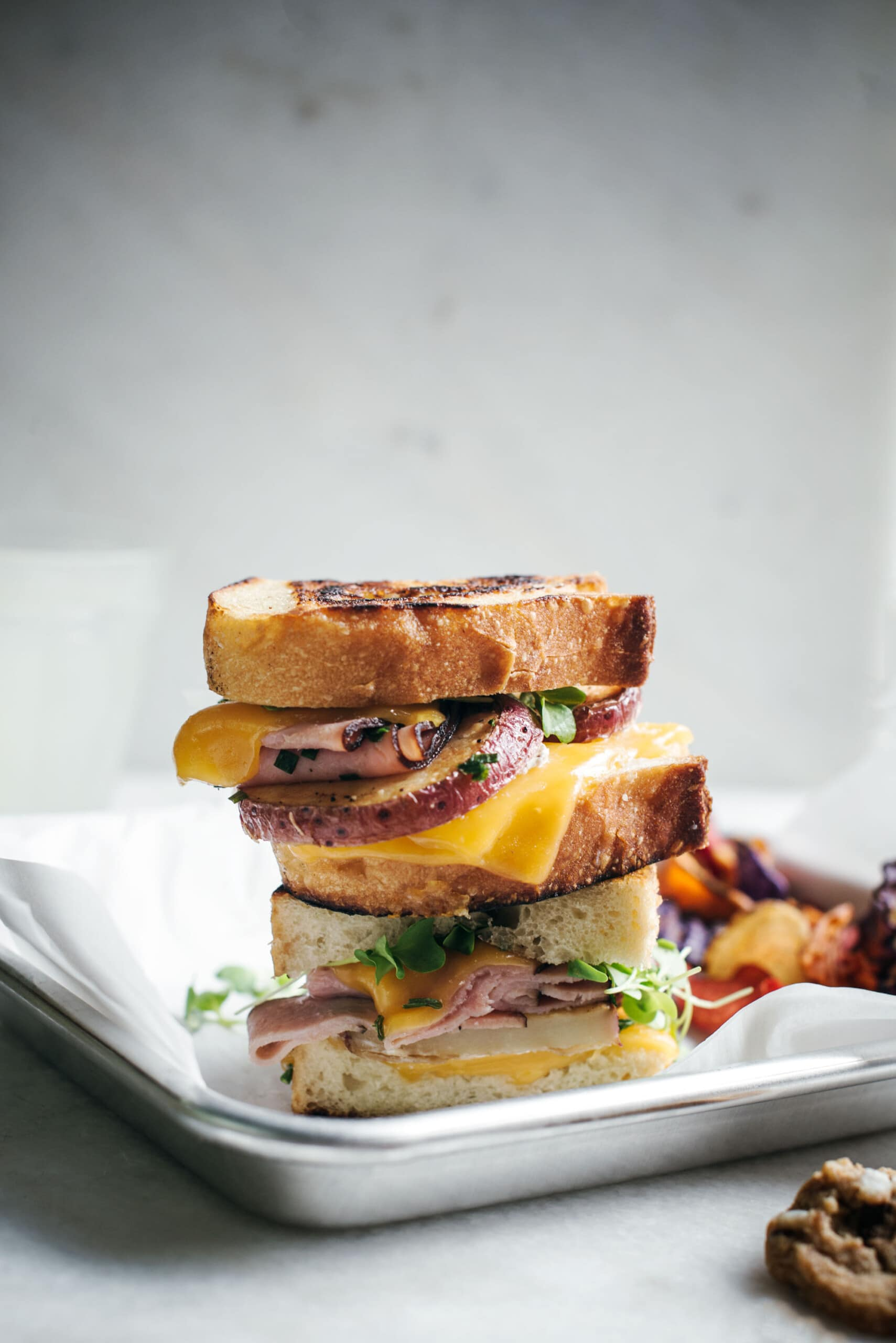 Kid-Friendly: Easy to Make Loaded Potato Grilled Cheese Sandwich
