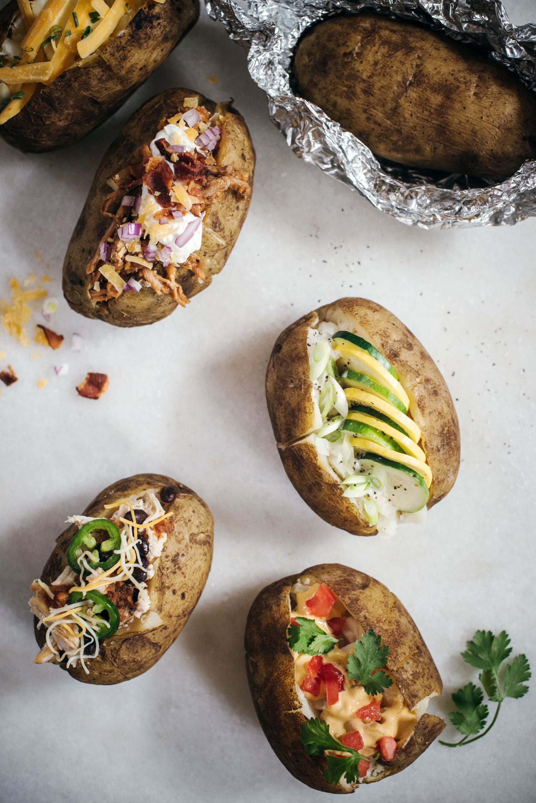 How To: Baked Potato Bar Ideas