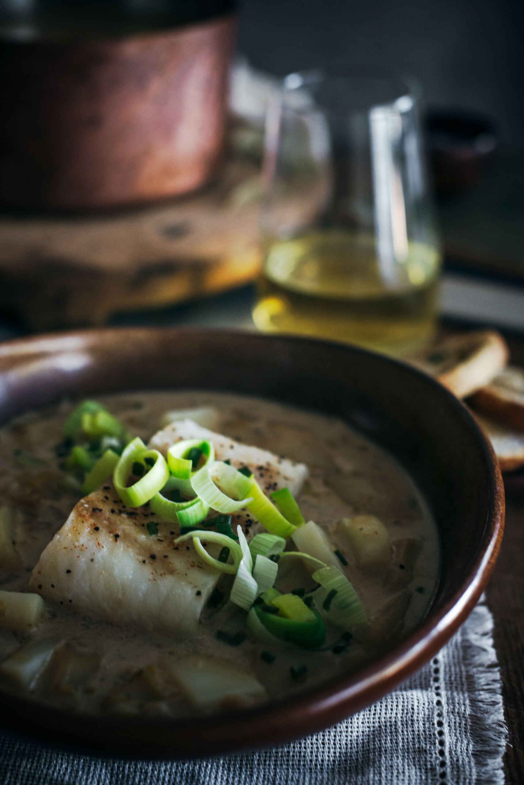 How to Make Baked Cod and Leek and Potato Soup Recipe